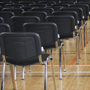 Large stocks of stacking chairs available.