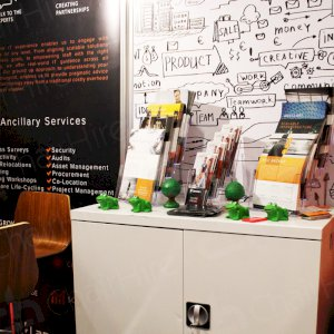 Utilise our robust cupboards at all events and exhibitions