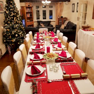 Creating a special festive event at your own house using furniture hire.