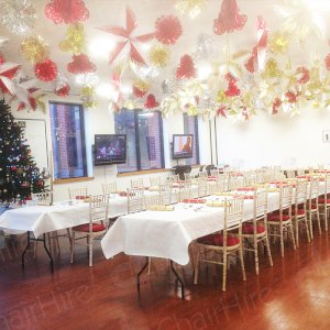 Plenty of chairs and tables to suit all event sizes.