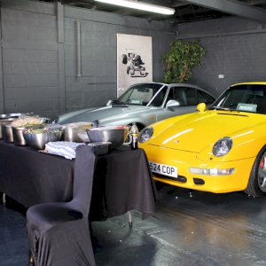 Making the best use out of our own space along with Furniture Hire. Wouldn't mind one of these however...