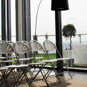Plenty of chairs for all attendees at your next meeting.