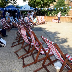 Hire deck chairs for your outdoor or indoor events
