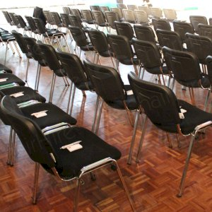 Take a seat and prepare your question for the politicians attending.
