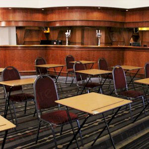Modern and fresh hotel venue for your 2015 exams.