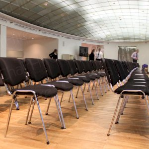 Black Stacking Chairs for meetings/conferences of all sizes in and around London