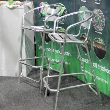 Main Image of Aluminium High Bar Stool