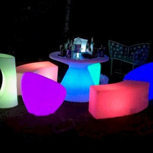 Light up your event with our range of LED Furniture.