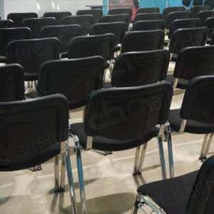 For neat rows and quick installation choose our linking conference chairs