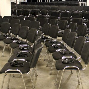 Keep venues looking smart with conference chairs.