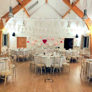 Our trestle tables and Chiavari chairs make stunning furniture for any event, including weddings!