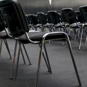 Conference chairs looking smart & subtle.