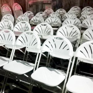 Folding Chair Hire for meetings across London and the UK.