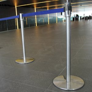 Crowd control barriers at events large and small
