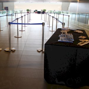 Orderly and organised with stretch barriers