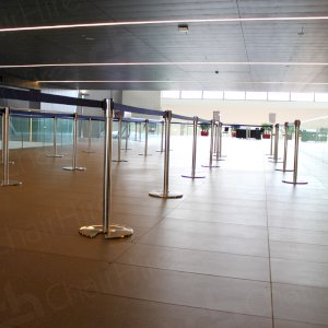 Thousands of stretch barriers in stock