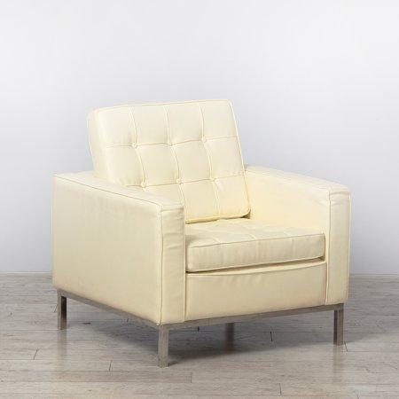 One Seater Cream Montague Sofa