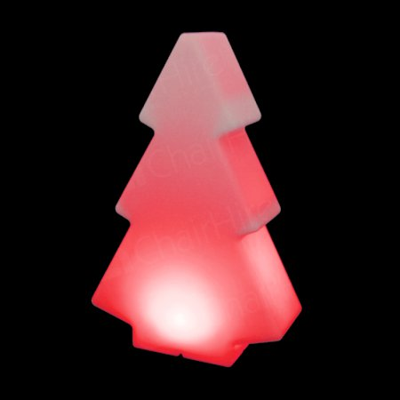 150cm Red Illuminated Tree