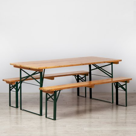 1800mm Beer Table & Benches Set