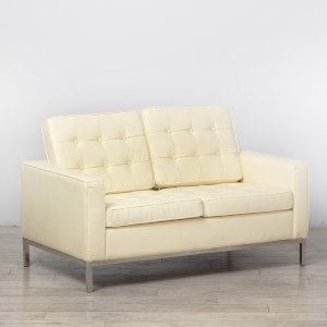 Two Seater Cream Montague Sofa