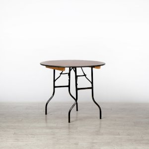 3ft Round Trestle Table