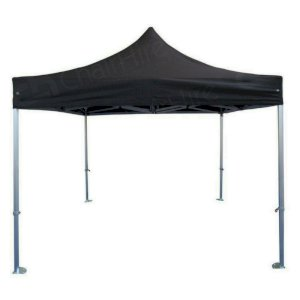 3m x 3m Black Popup Marquee