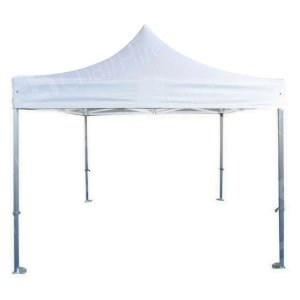 3m x 3m White Popup Marquee