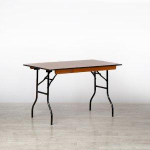 4ft Rectangular Trestle Table
