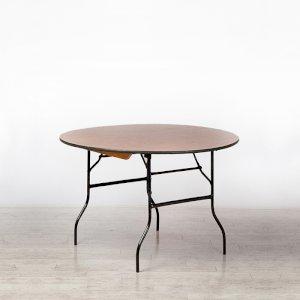 4ft Round Trestle Table