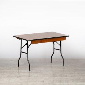 4ft Square Trestle Table