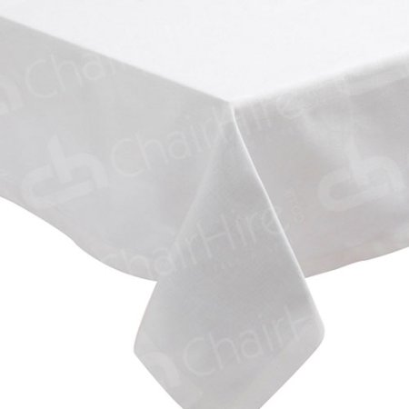 Main Image of 1830mm Rectangular Table Cloth - White