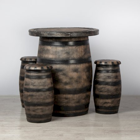 Main Image of Barrel Bar Set