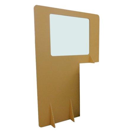 Bespoke Freestanding Cardboard Desk Divider