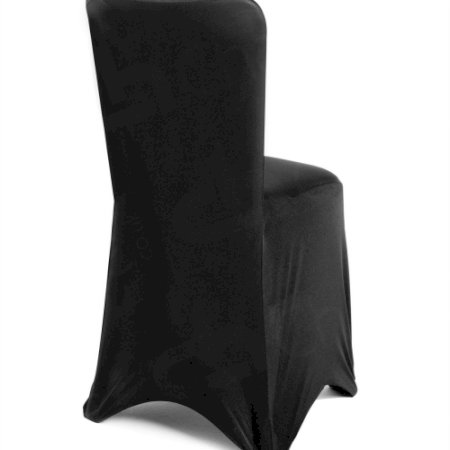 Main Image of Fitted Lycra Chair Cover - Black