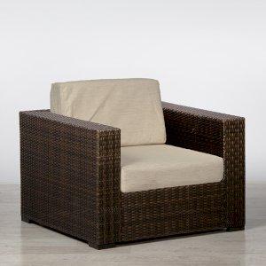 Brown Rattan Chair