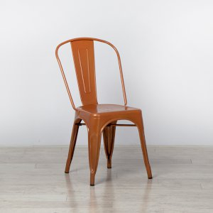 Copper Tolix Style Stacking Chair