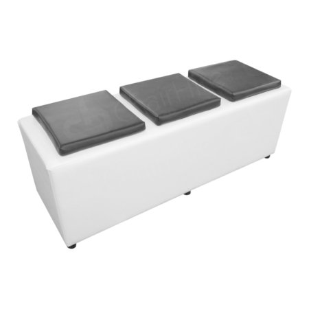Cube Bench - White