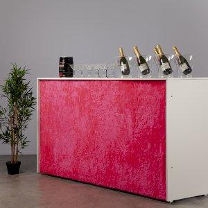 Fluffy Bar - Pink - 2m Unit