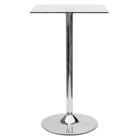 Glass Poseur Table - Square