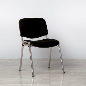 Linking Black Conference Chair
