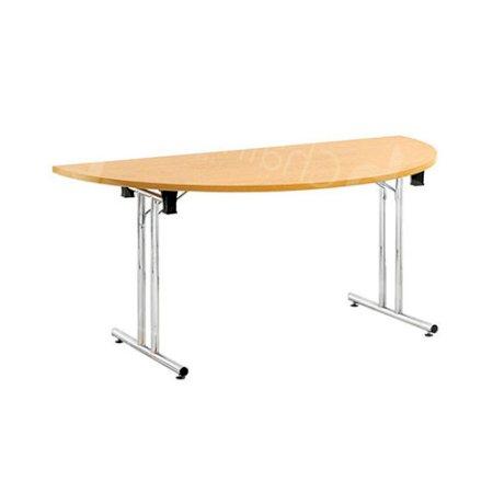 Modular D-End Meeting Table