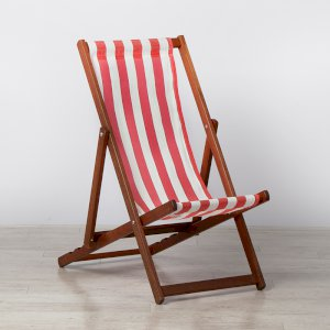 Red Deck Chair