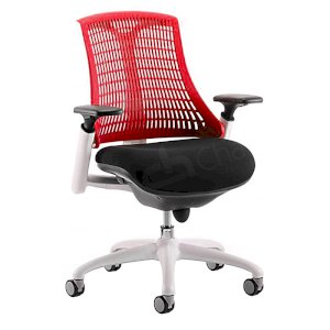 Wickford Task Operator Chair - Red