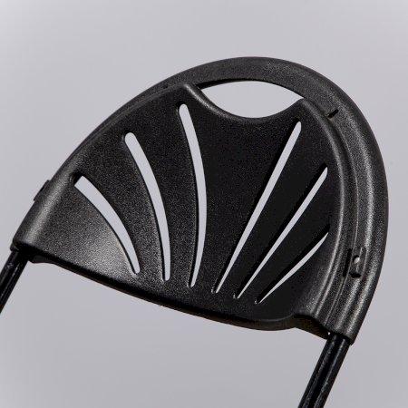 Main Image of Black Folding Fan Back Chair