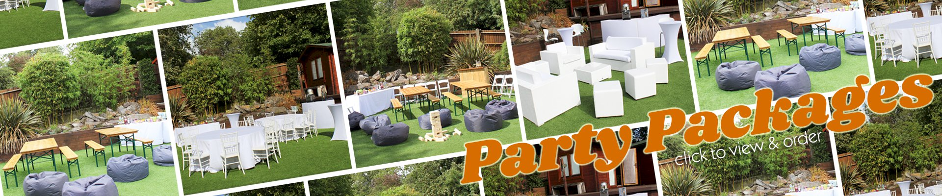 Party Furniture Hire Packages