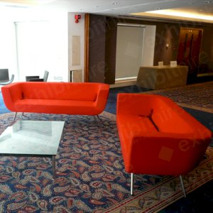 The Bono Sofa offers exceptional comfort to your event guests.