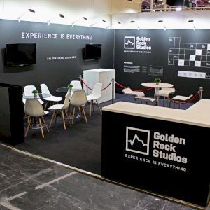 No matter what your ideas are for your next exhibition stand, we can help. Our team will help you from the beginning to the end of your exhibition stand process. Furniture hire, illuminated graphics, flooring, lighting, TVs - you name it, we can provide it!