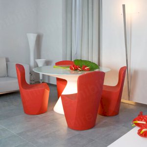 The Illuminated Ex Table is an eye-catching and stylish piece that can be illuminated in a range of colours.