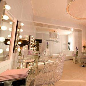 Our Meridiana Chair at a beauty event.