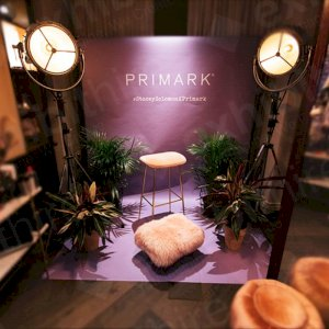 We provided a bespoke coloroma backdrop for the Stacey Solomon x Primark range.